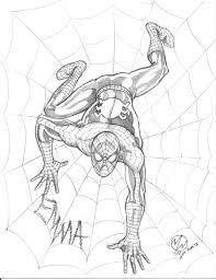 spider man sketch wedmer deviantart