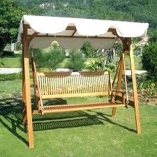 wooden canopy swing 2 porch swing with stand and canopy swings for