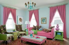 pink delight beautify your living room by adding a pink sofa