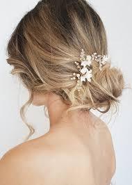 wedding hair pins briar floral bridal hair pins tania maras bespoke