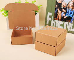 jewelry box 50 aliexpress buy size 50 50 20mm kraft packaging jewelry box