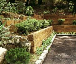 Stone For Garden Walls by Retaining Wall Designer Garden Retaining Wall Design Retaining