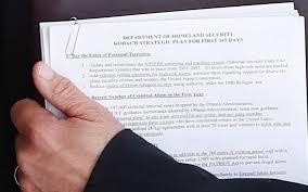 Plan Image Photo Shows Kris Kobach Showing Plan For Homeland Security