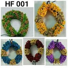 flower decoration for hair hair flower suppliers manufacturers in india