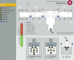 Slc Airport Map Airport Terminal Maps Reagan National Sacramento Salt Lake