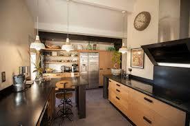 cuisine bois et inox cuisine et bois photo cuisine et bois impressionnant