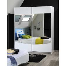 chambre blanc laqué armoire 2 portes coulissantes blanc laqué pour chambre d adultes av