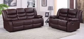 2 Seater Reclining Leather Sofa 3 Seater Recliner Leather Sofa Daltonaux