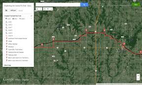 Google Maps Engine Lite Exploring The Santa Fe Trail Douglas County Kansas Diana