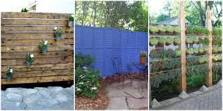 Privacy Walls For Patios by Diy Patio Privacy Screens Backyard Patio Ideas