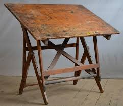 vintage wood drafting table awesome drafting table inside best 25 antique ideas on pinterest