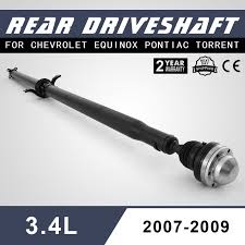 chevy equinox driveshaft drive shaft awd 07 09 equinox propeller