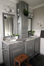 Bathroom Ideas Gray What A Dramatic Difference This Bathroom Used To Be