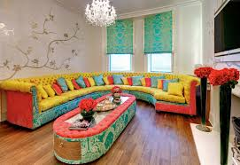 Colorful Furniture by Ideas For Colorful Sofas Design 24805