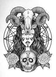 best 25 satanic tattoos ideas on pinterest satanic art evil