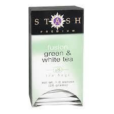 upc 030684819674 stash premium green white tea bags fusion 6