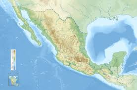 States Of Mexico Map by Mexico