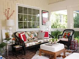 a screened in porch is the perfect spot for relaxing enjoying