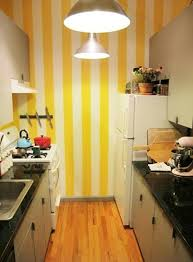 Kitchens With Yellow Walls - 15 captivating kitchen designs with striped walls rilane