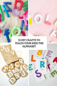 10 diy crafts to teach your kids the alphabet shelterness