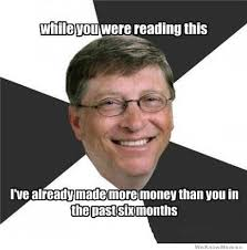 Bill Gates Meme - scumbag bill gates weknowmemes