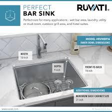 what is minimum base cabinet width 18 inch undermount bar prep kitchen sink 16 stainless