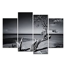 Landscape Canvas Prints by Amazon Com Modern Canvas Art Classical Black And White Tree