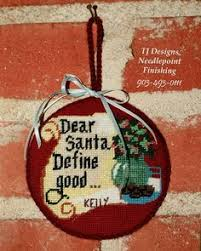 finished needlepoint ornaments by tj designs needlepoint