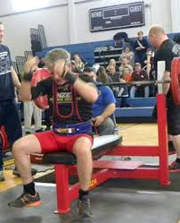 Bench Press Records By Weight Class Brochey Ranked First In Usa In Bench Press For Age Weight Class