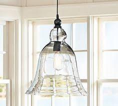 pottery barn kitchen lighting paxton glass 3 light pendant pottery barn kitchen ideas