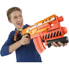 nerf car gun nerf n strike elite demolisher 2 in 1 blaster walmart com