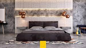 amazing black furniture of master bedroom with beige bedroom