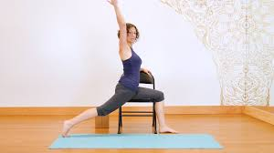 Chair Yoga Class Sequence Yoga With A Chair Beginners U0027 Practice