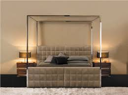 Bed Frame With Canopy Contemporary Canopy Bed For Vine Dine King Bed