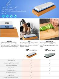 sharpening kitchen knives with a stone premium knife sharpening stone 2 side grit 1000 6000 waterstone