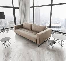 Sofa Sleeper Queen Size Modern Cassius Deluxe Excess Lounger Sleeper Sofa Bed Queen Zin Home