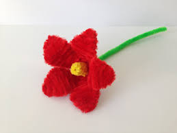 how to make a pipe cleaner lily youtube