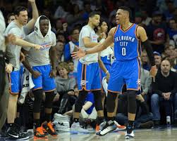 basketball player on bench thunder bench power rankings thunderous intentions an oklahoma