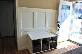 Bench Ideal Entry Bench And Shelf Set Favored Entry Bench And