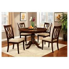 cherry dining room set table top with pedestal dining table wood brown cherry