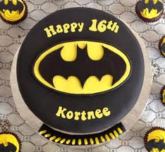 image of awesome batman birthday cake batman birthday