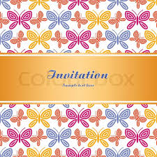 vintage background summer and style invitation greeting