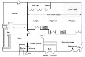 ballroom floor plan floor plans capacity brookstown inn hotel