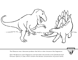 coloring stegosaurus coloring pages