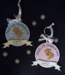 handmade personalised wood babys 1st first christmas tree