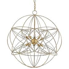 Orb Chandelier Zenda Orb Chandelier By Currey And Company At Lumens Com