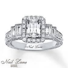 Neil Lane Wedding Rings by Kay Neil Lane Engagement Ring 2 1 8 Ct Tw Diamonds 14k White Gold
