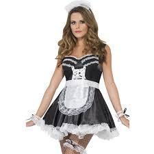 d馮uisement femme de chambre costume femme kit femme de chambre française blanc
