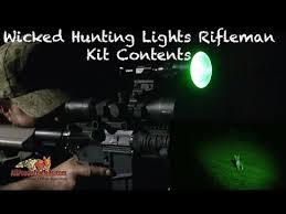 Coyote Hunting Lights Wicked Lights W402zf Predator U0026 Hog Night Hunting Rifleman Kit