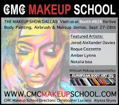 makeup artist school dallas lynne makeup artist painting paint with cmc